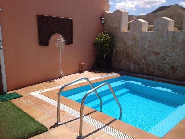 Casa rural en guadalajara cerca de madrid la gesta casa for Planos de piscinas pequenas