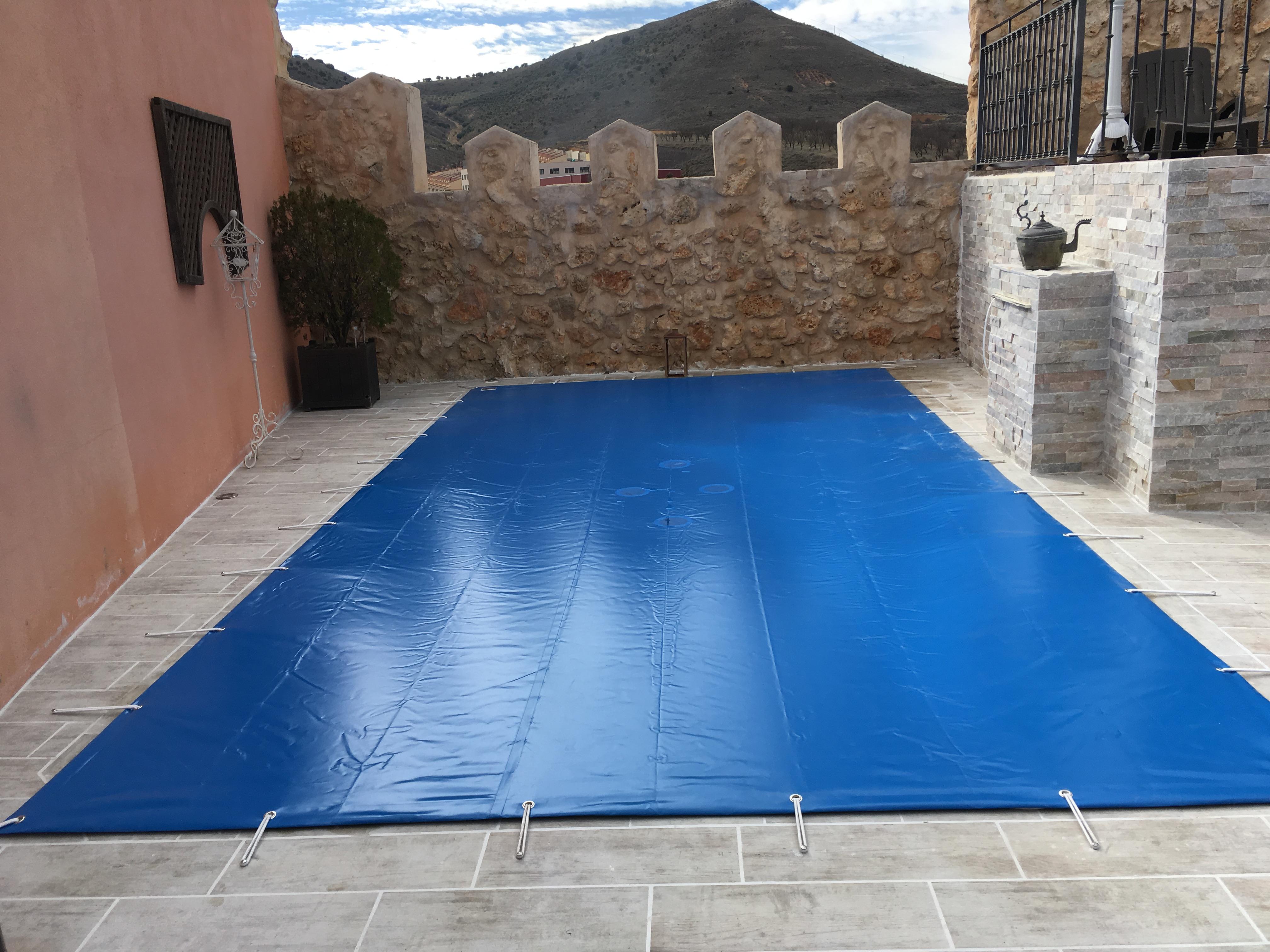 piscina lona exterior