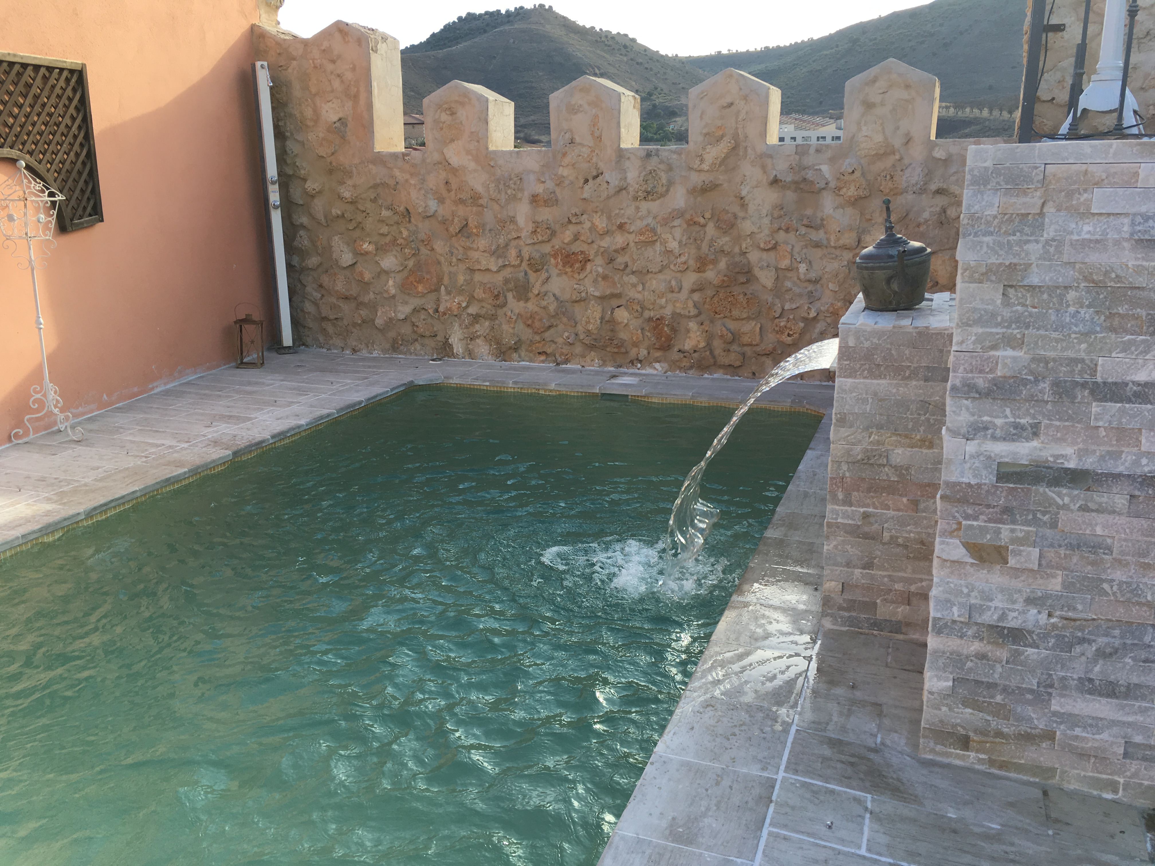 piscina exterior casa rural