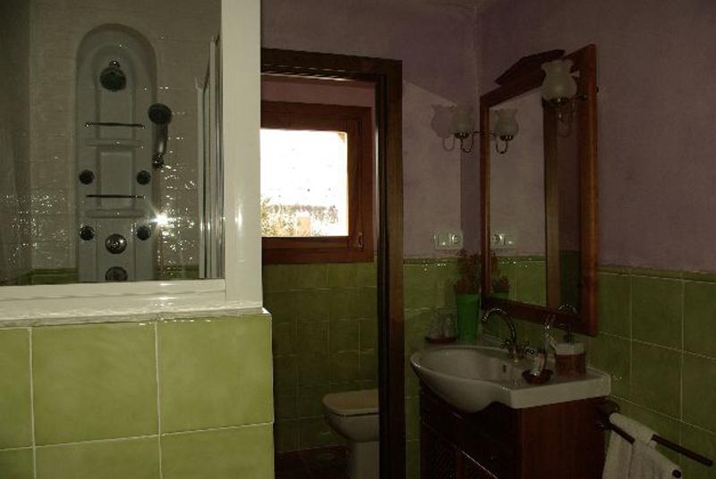 ducha hidromasaje casa rural