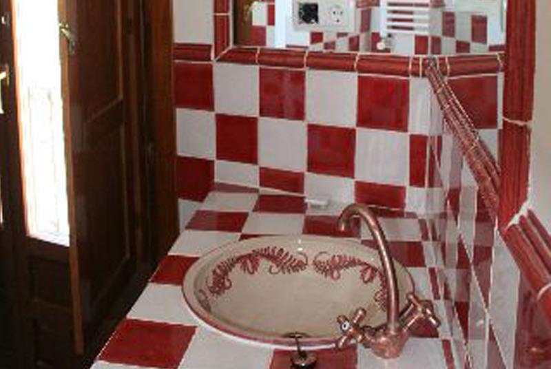 baño casa rural