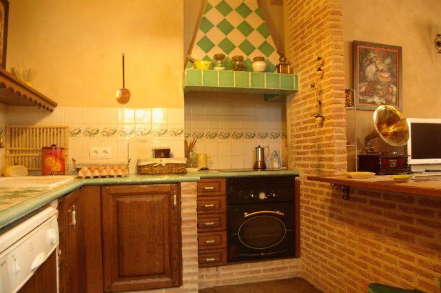 COCINA 11 - Casa rural con chimenea
