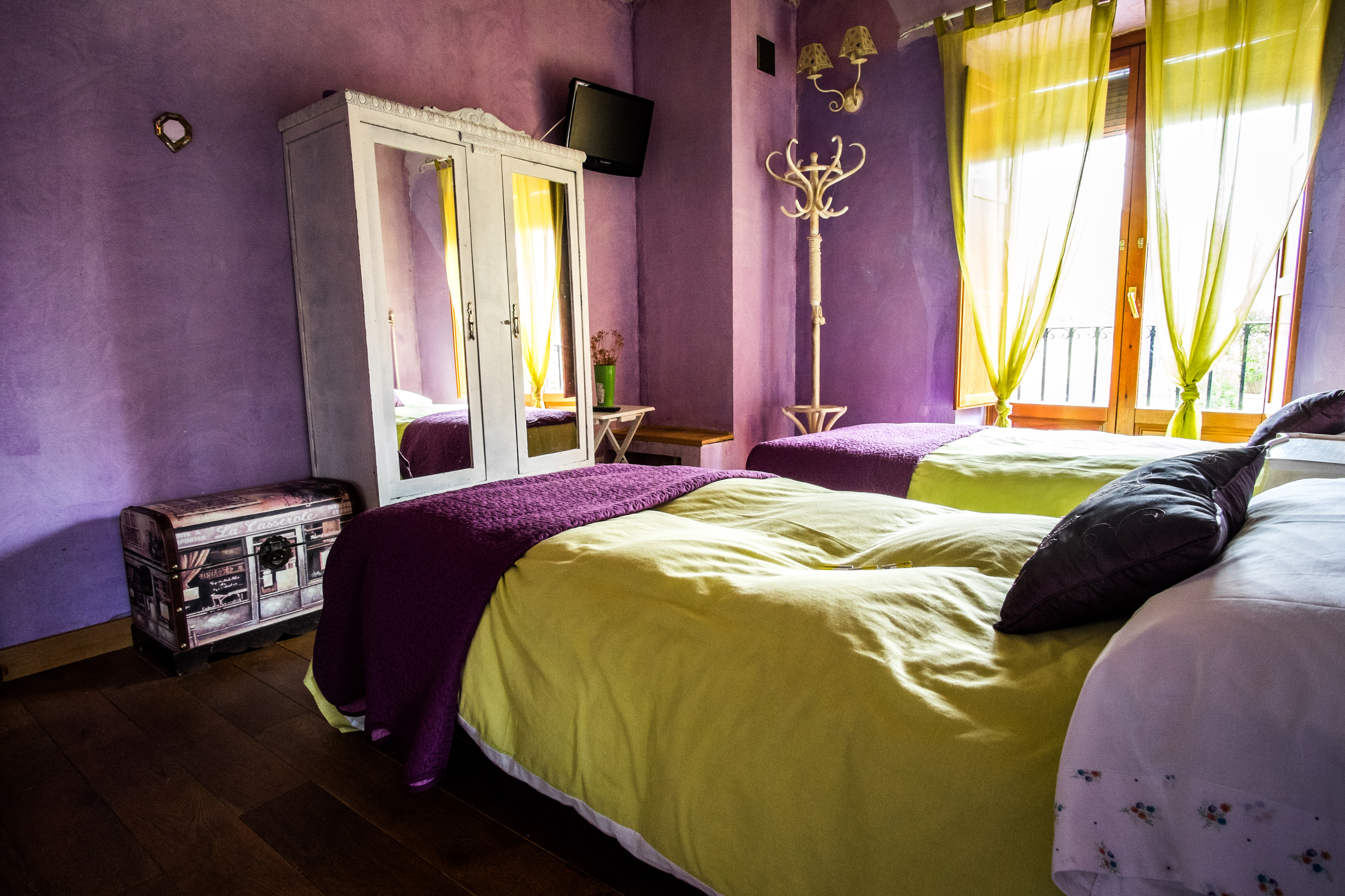 dormitorio 2 camas 2