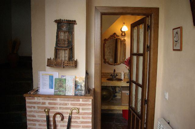 entrada casa rural