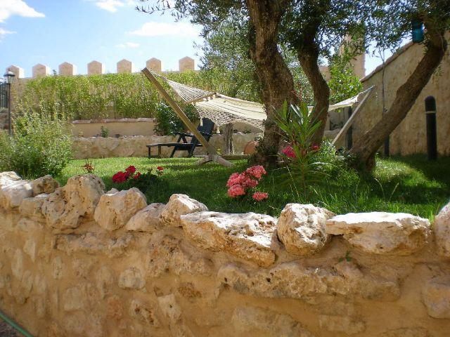 Jardines casa rural